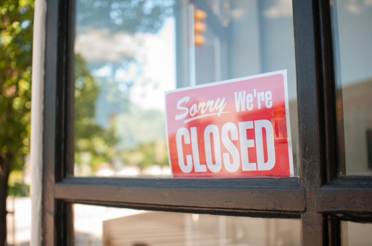 What To Do If an Unplanned Event Forces You to Close Your Business