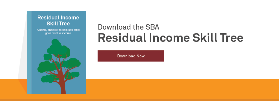 How To Make Residual Income Skill Tree CTA
